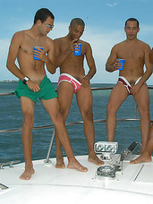 Gay sailor men get drunk and fuck eachother in the ass on a love boat to sex paradise