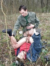 Those who love outdoor gay sex will definitely want to watch this gay sex video because this gay video takes place in a quiet forest. Several young guys gather for a game of shooting, like a paint ball game. Its the game of adrenaline and excitement, but
