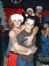 This hot xmass party papi style turns into a crazy house when everyone gets naked
