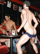 Amazing gay club action on the pool table in these horny gay orgies