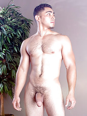 Muscle stud Miguel Temon, with his monster uncut cock, is happy to see Markus Hudsons big, accommodating ass in this video. While getting his nut, Miguel treats Markus pretty rough, ramming him hard and deep with that big, raw cock. Markus gets to eat hi