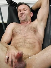 Matt Sizemore has given in completely to his inner bareback whore. But that doesn't mean the butch older Daddy doesn't know how to top! Verbal and dominant, this aggressive hung fucker slams his cock repeatedly down Kamrun's throat and the tattooed,