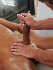 Sticky massage surprise