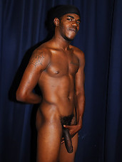 Big dick black studs suck and fuck each other