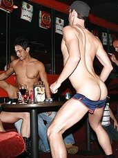 Chk out daniel in this hot and horny gay club sex party