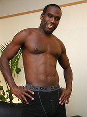 Black jock milks his rod