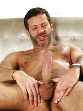 In the second of our 'Studio of Sin' series, Antonio's session with Johnny Hazzard was interrupted by Lucio Saints. Meanwhile, Johnny's partner Jason Stark comes looking for him and discovers Johnny riding Lucio's huge uncut meat. Jason finds An